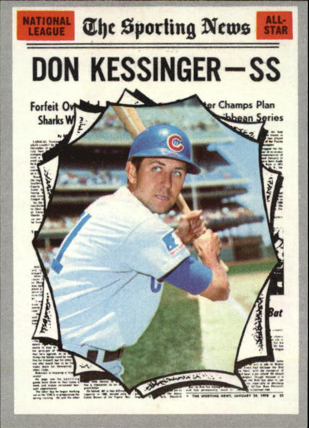 1970 Topps #456 Don Kessinger AS