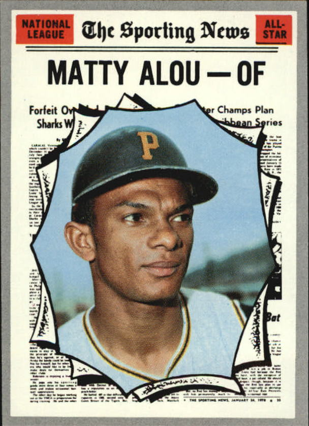 1970 Topps #460 Matty Alou AS