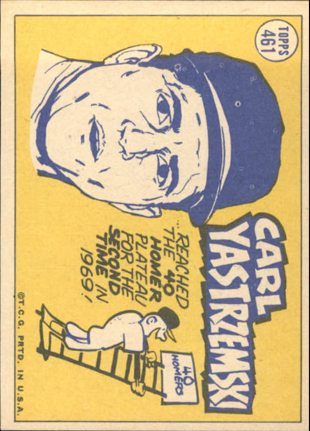 1970 Topps #461 Carl Yastrzemski AS
