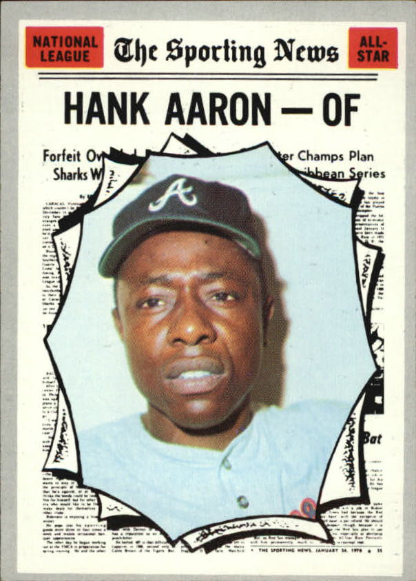 1970 Topps #462 Hank Aaron AS