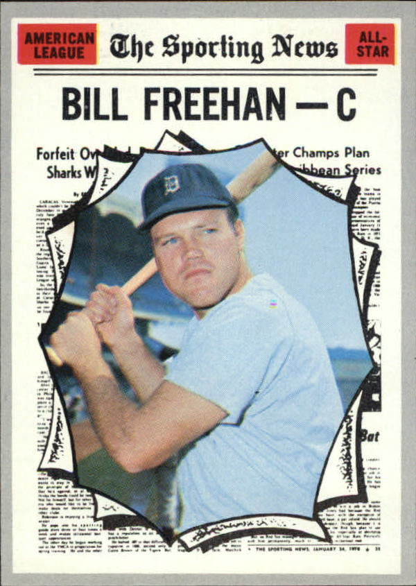 1970 Topps #465 Bill Freehan AS