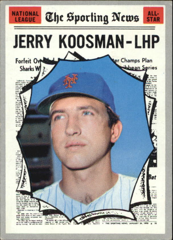 1970 Topps #468 Jerry Koosman AS