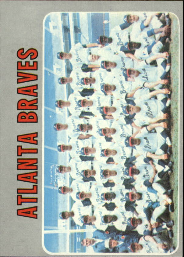 1970 Topps #472 Atlanta Braves TC
