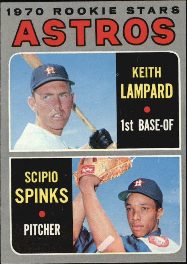 1970 Topps #492 Rookie Stars/Keith Lampard RC/Scipio Spinks RC