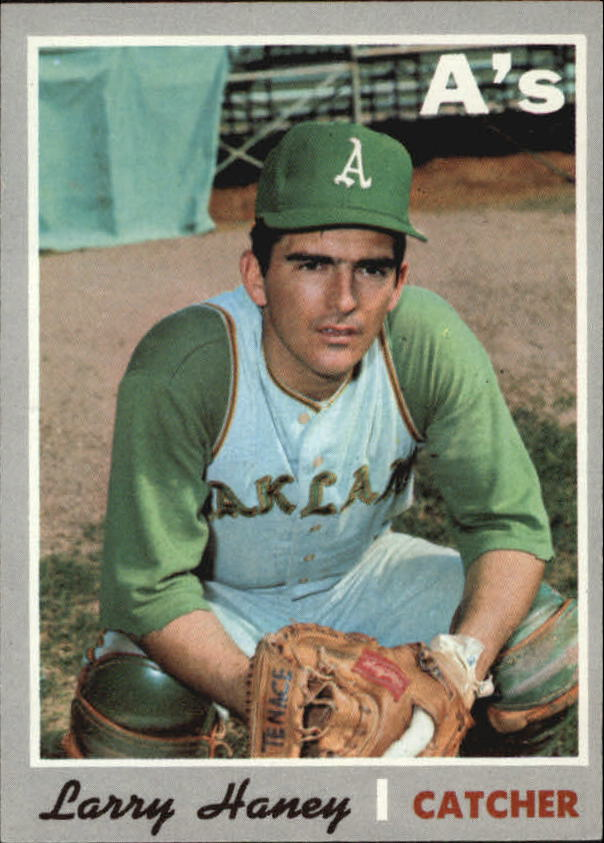 1970 Topps #648 Larry Haney
