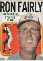 1970 Topps Posters Inserts #10 Ron Fairly