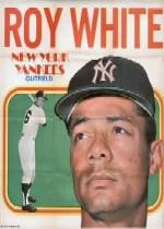 1970 Topps Posters Inserts #14 Roy White