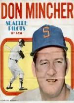 1970 Topps Posters Inserts #17 Don Mincher
