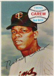 1970 Kellogg's #47 Rod Carew