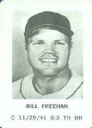 1970 Milton Bradley #7 Bill Freehan