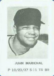 1970 Milton Bradley #14 Juan Marichal