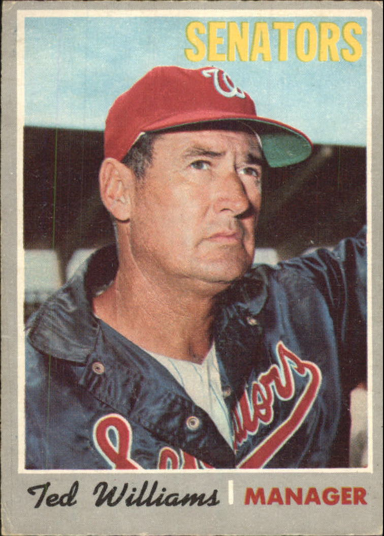 1970 O-Pee-Chee #211 Ted Williams MG