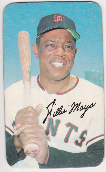 1970 Topps Super #18 Willie Mays