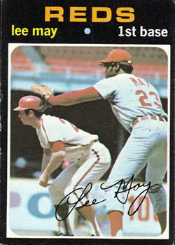 1971 Topps #40 Lee May