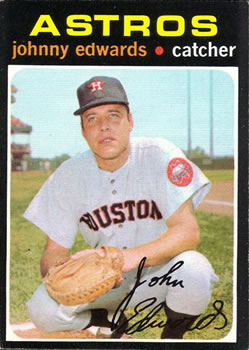 1971 Topps #44 Johnny Edwards