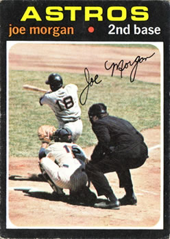1971 Topps #264 Joe Morgan