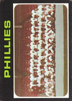 1971 Topps #268 Philadelphia Phillies TC