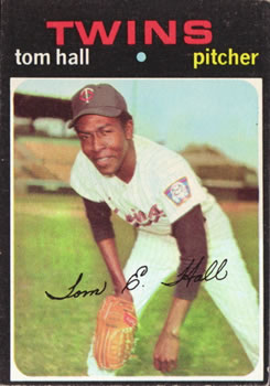1971 Topps #313 Tom Hall