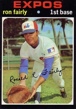 1971 Topps #315 Ron Fairly