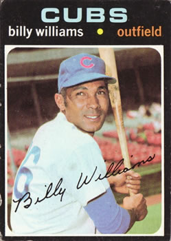 1971 Topps #350 Billy Williams