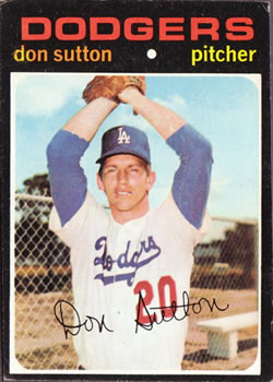 1971 Topps #361 Don Sutton