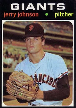 1971 Topps #412 Jerry Johnson