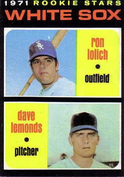 1971 Topps #458 Rookie Stars/Ron Lolich RC/Dave Lemonds RC