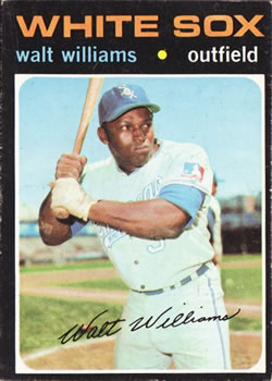 1971 Topps #555 Walt Williams