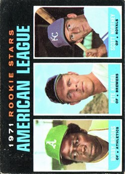 1971 Topps #633 Rookie Stars/Bobby Brooks/Pete Koegel RC/Scott Northey