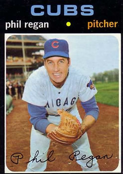 1971 Topps #634 Phil Regan