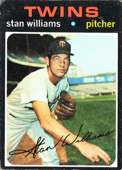 1971 Topps #638 Stan Williams