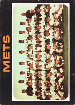 1971 Topps #641 New York Mets TC