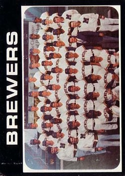 1971 Topps #698 Milwaukee Brewers TC SP
