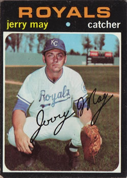 1971 Topps #719 Jerry May SP