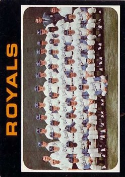 1971 Topps #742 Kansas City Royals TC
