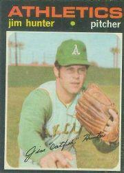 1971 O-Pee-Chee #45 Jim Hunter