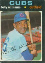 1971 O-Pee-Chee #350 Billy Williams