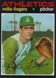 1971 O-Pee-Chee #384 Rollie Fingers