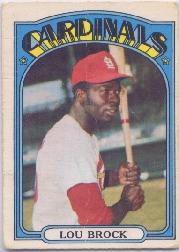 1972 O-Pee-Chee #200 Lou Brock