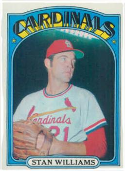 1972 Topps #9 Stan Williams