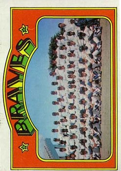 1972 Topps #21 Atlanta Braves TC