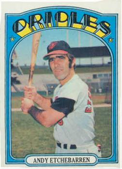 1972 Topps #26 Andy Etchebarren