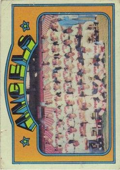 1972 Topps #71 California Angels TC