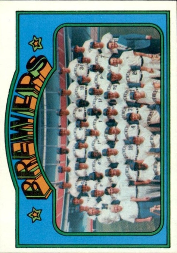 1972 Topps #106 Milwaukee Brewers TC