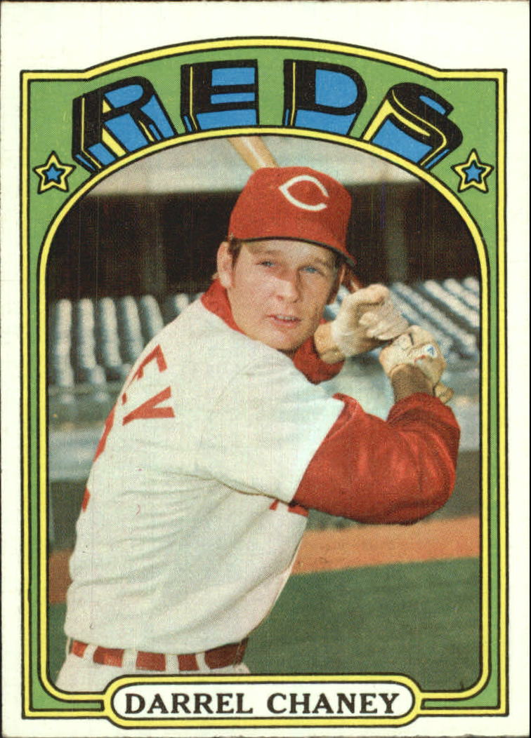 1972 Topps #136 Darrel Chaney