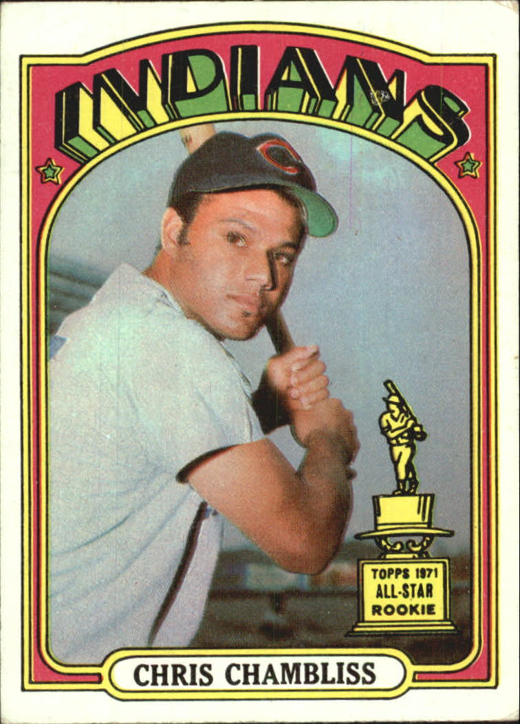 1972 Topps #142 Chris Chambliss RC