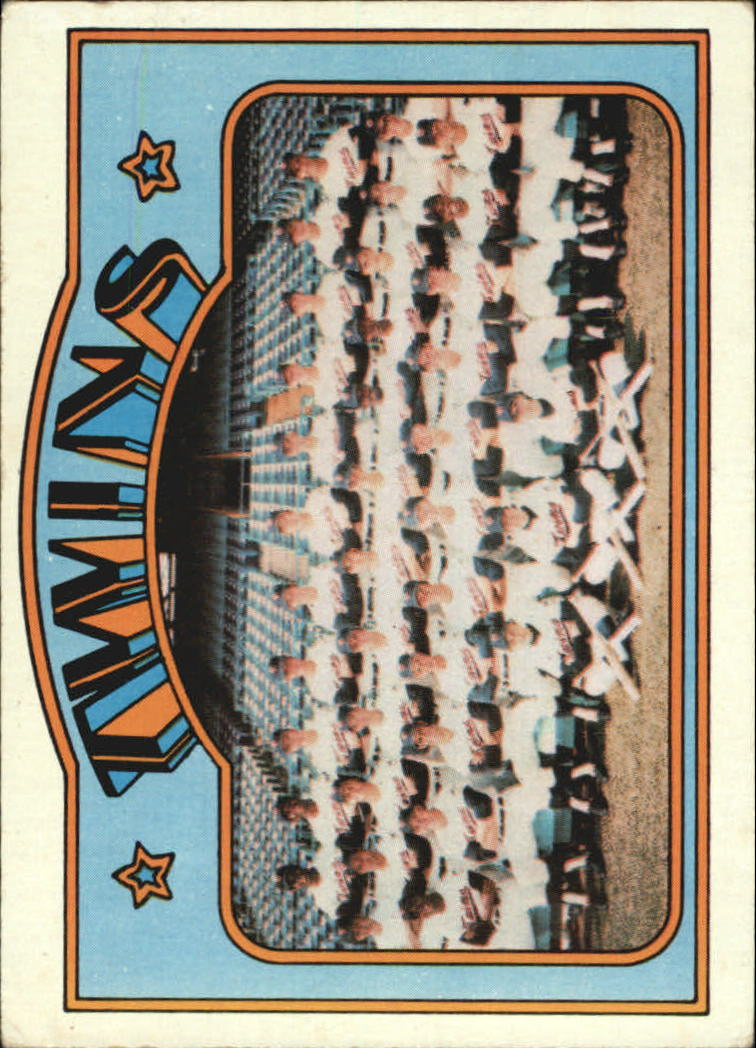1972 Topps #156 Minnesota Twins TC