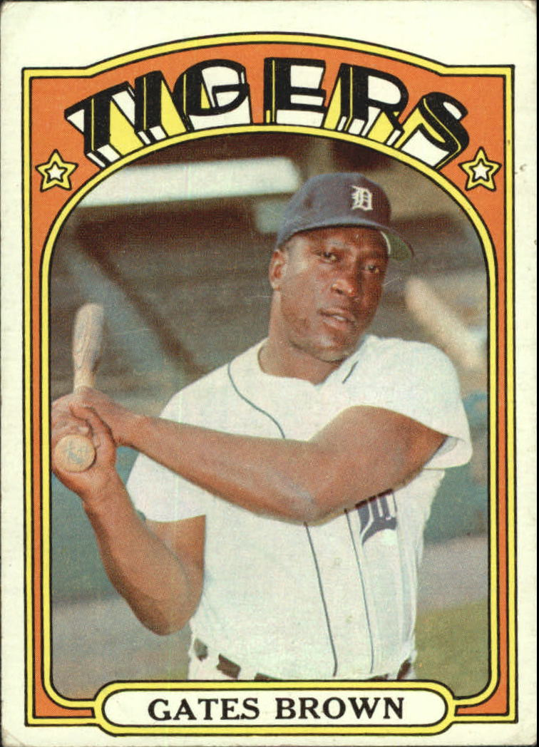 1972 Topps #187 Gates Brown