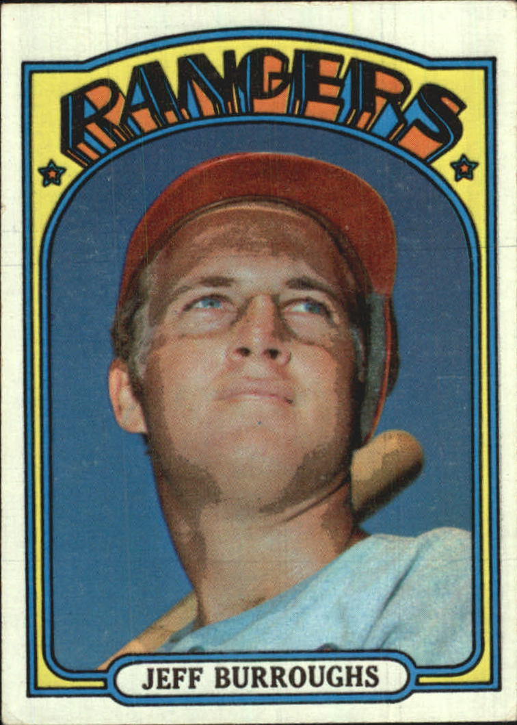 1972 Topps #191 Jeff Burroughs RC