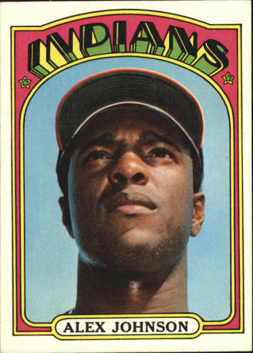 1972 Topps #215 Alex Johnson